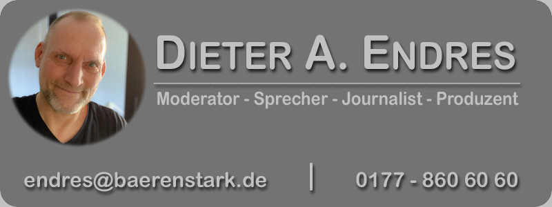Dieter A. Endres - Moderator - Sprecher - Journalist - Producer